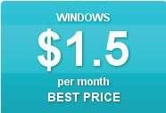 Windows Web Hosting Services