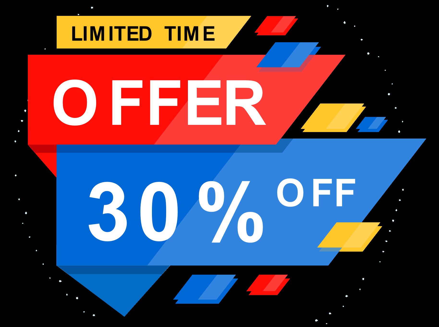 30%-offer