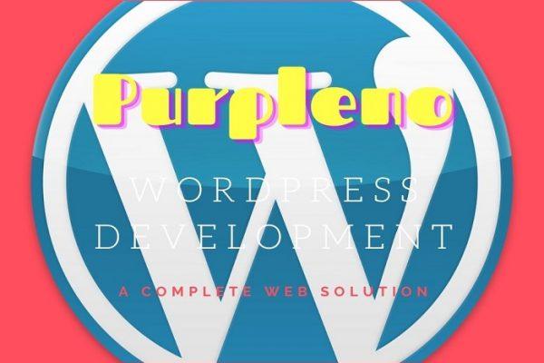 WordPress development in Kolkata-Purpleno