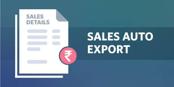 Sales Auto Export
