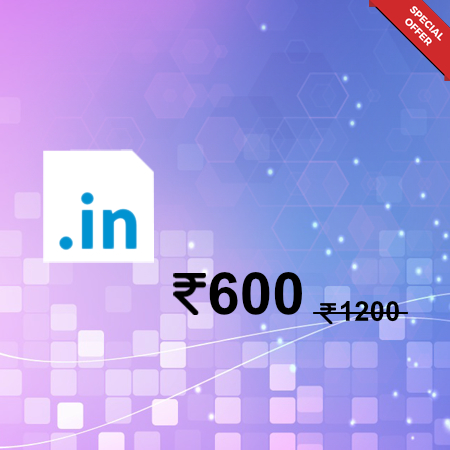 .in domain only rs600