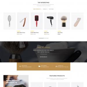 Salon Magento web template