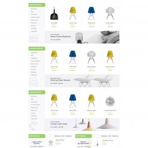 Furniture Magento web template