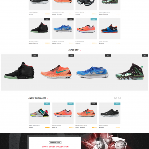 Shoes Magento web template