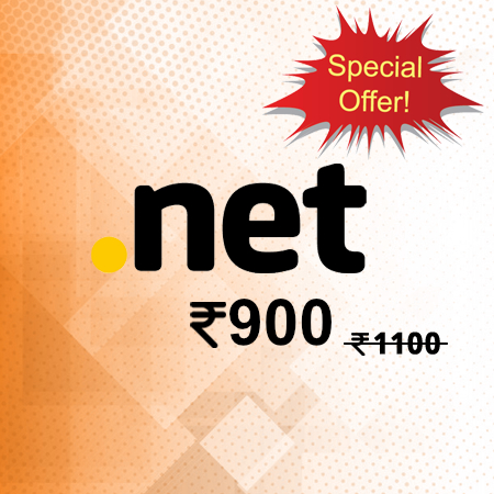 .net domain only rs900