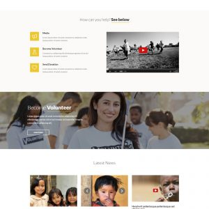 NGO website template