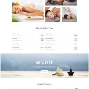 spa web template