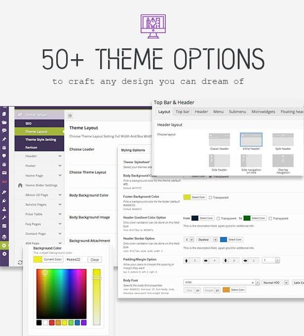 Redux Theme options