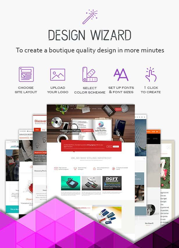 Website Design wizard